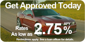 Get approved today. Rates as low as 2.5%