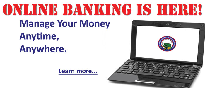 Online banking is here